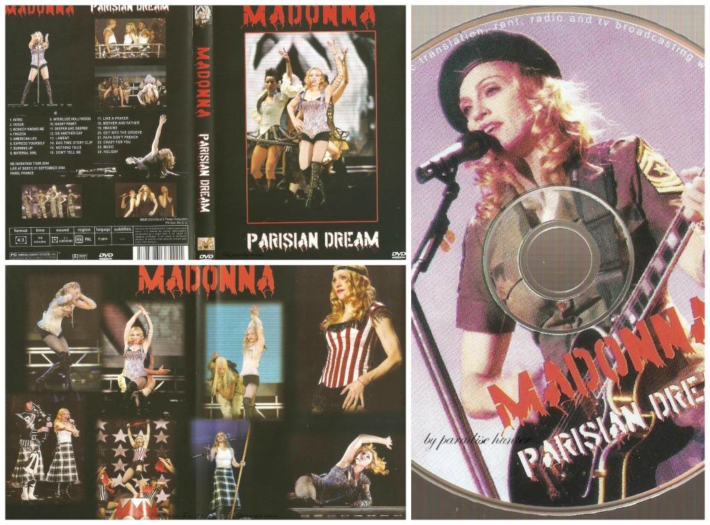 parisian dream dvd